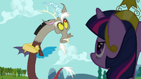 "Discord mocks Twilight's ""precious princess"" S03E10"