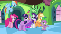 Twilight &quot;hang on to your elements, girls&quot; S03E10
