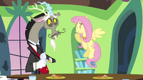 Fluttershy and Discord &quot;why, of course!&quot; S03E10