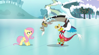 Discord and Fluttershy &quot;what&#39;s wrong, pal?&quot; S03E10
