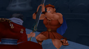 Auron vs. Hercules
