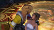 Tidus and Yuna in Bevelle Temple