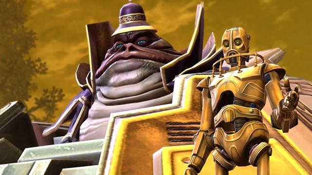 Star Wars The Old Republic Rise of the Hutt Cartel Teaser Trailer