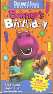 Barney's Birthday 1993 Cover