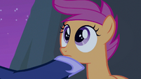 Scootaloo wide eyed cuteness S3E6