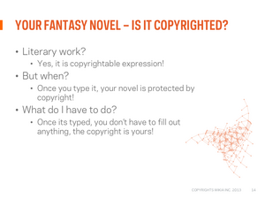 Copyright webinar Slide15