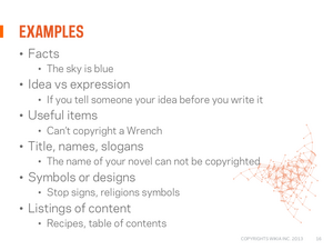 Copyright webinar Slide17