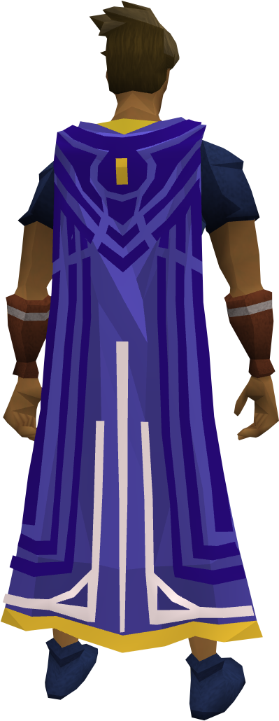 Milestone cape (90) equipped