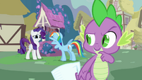 Rarity don&#39;t worry Rainbow S3E11