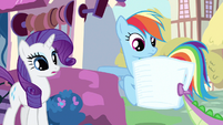 Rarity &amp; Rainbow Dash spot catch S3E11
