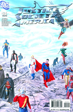 Cover for Justice Society of America #14
