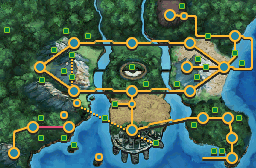 Unova Route 20 Map