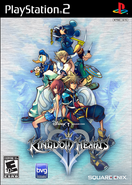 Kingdom Hearts II Jaquette USA