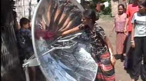 Solar Cooking Project in Nepal by Stichting Vajra