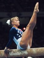 Shannon Miller -- Then