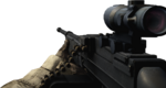 BFBC2 Type 88 LMG ACOG