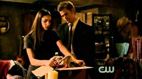 Damon walks in on Stefan and Elena making out -The Last Dance-(2X18)