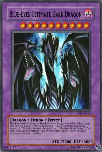 blue ice toon dragon: