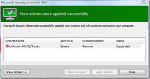 Microsoft Security Essentials Success