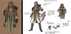 Sazh FFXIII Early Concept Art