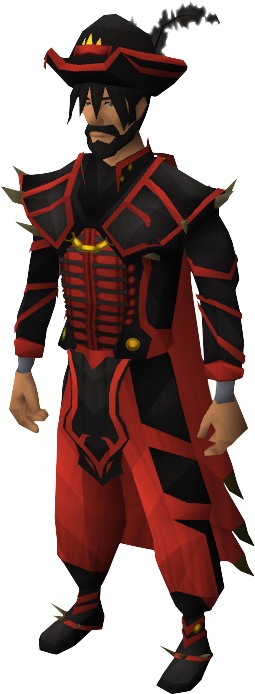 Dragon ceremonial outfit equipped male