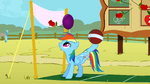 Rainbow Dash bouncing balls S01E13