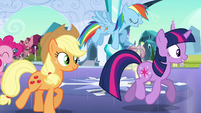 Rainbow Dash boasting &quot;awesome at it&quot; S03E12