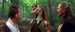 Jar Jar meets Jedi