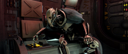 Grievous escape pod