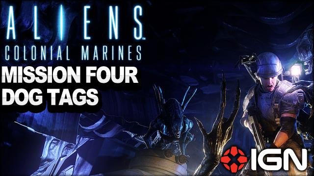 Aliens Colonial Marines - Mission 4 Dog Tags - No Hope In Hadley's - Walkthrough