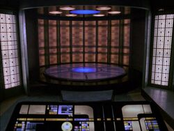Galaxy class transporter pad