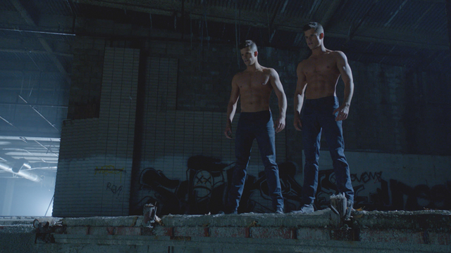 Scenes Charlie Carver Max Carver Shirtless Twins.png - Teen Wolf Wiki