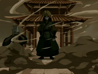 Kyoshi appears