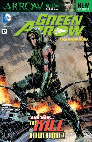 Cover for Green Arrow #17 (2013)