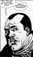 Issue 107 Negan Confused