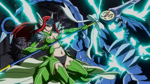 Erza defeat monster us...