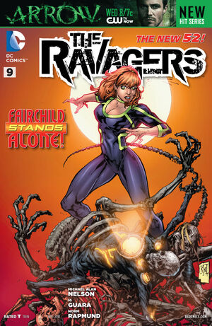 Cover for Ravagers #9