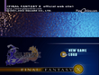 FFX Title Screen