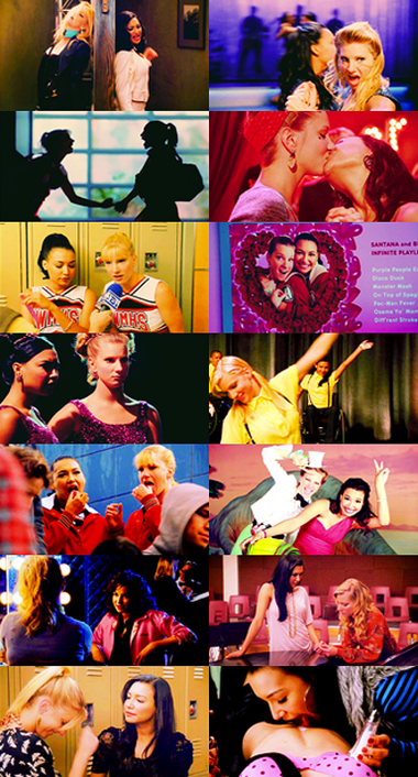 Brittana Collage TF