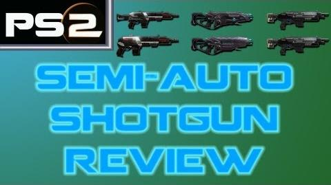 Planetside 2 - Semi-Automatic Shotguns Review - Mr. G4F