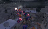 Presents flying Winter Crash COD4