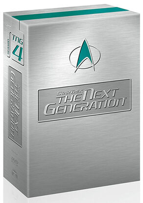 TNG Season 4 DVD-Region 1