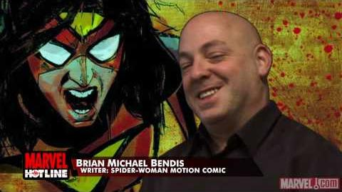 Marvel Hotline Spider-Woman Motion Comics