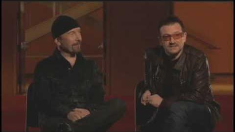Bono & The Edge Interview Clip 1