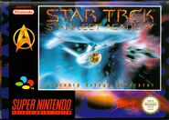 Star Trek Starfleet Academy Starship Bridge Simulator SNES PAL