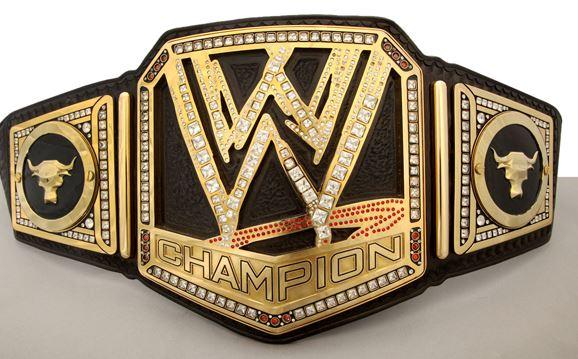 WWE Championship Belt 2013