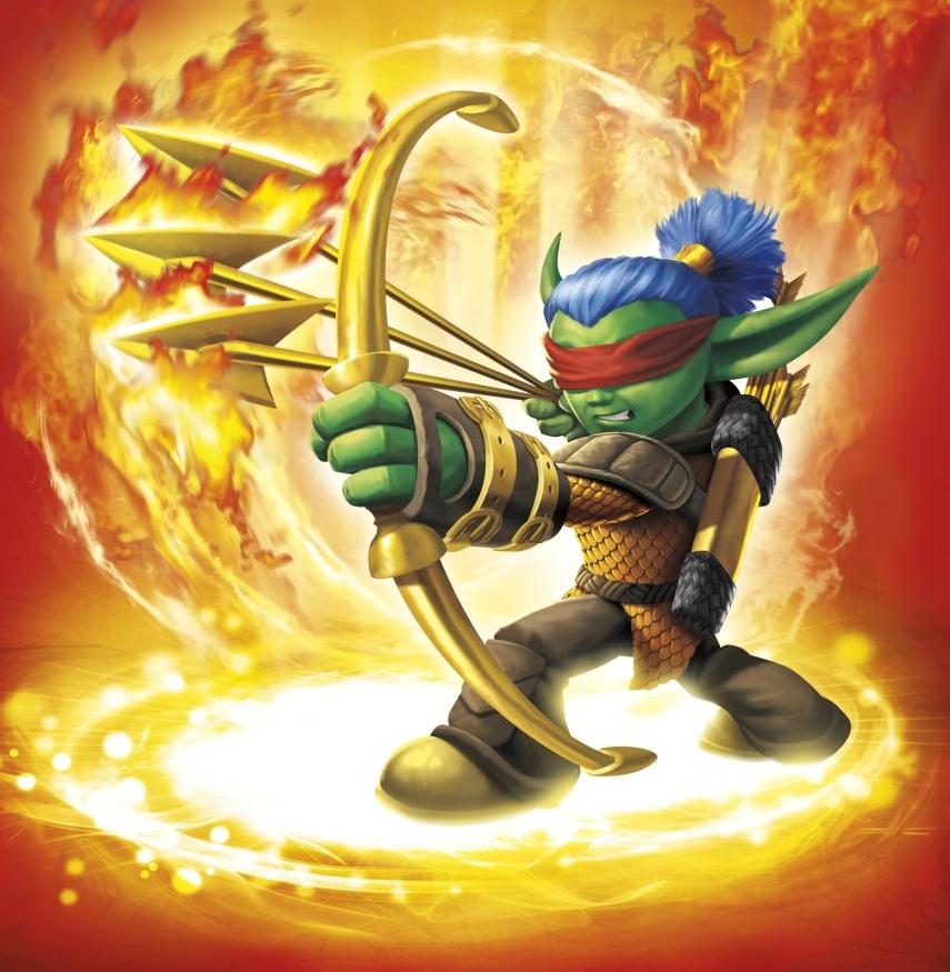 Flameslinger portal masters of skylands unite - Images skylanders ...