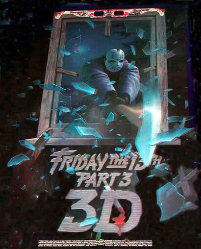 Friday The 13th 3-D poster