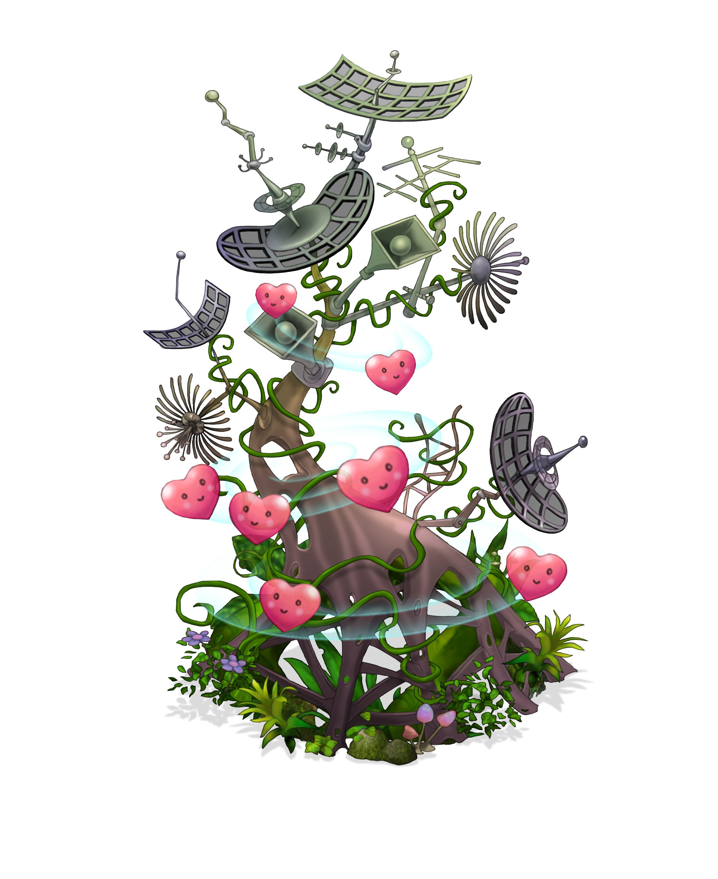 My Singing Monsters Unity Tree