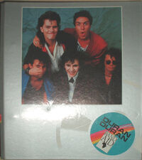 Duran Duran Band Aid Ring Binder wikipedia